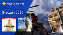Styczeń 2020 - darmowe gry w PlayStation Plus