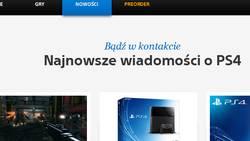 Sony ukrywa dział preorderów na polskiej stronie?