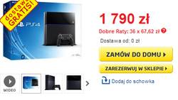 PlayStation 4 w Polsce od listopada za 1790 złotych