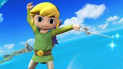 Link z Wind Wakera w najnowszym Super Smash Bros