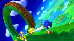 Sonic szaleje na świeżym materiale wideo