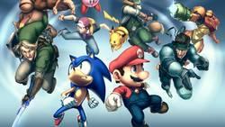 Sonic oficjalnie w Super Smash Bros.