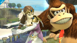 Zelda oficjalnie w Super Smash Bros.
