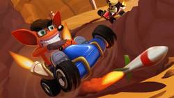 Gameplay ze skasowanej odsłony Crash Team Racing