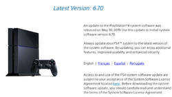 Firmware 6.70 dla PS4