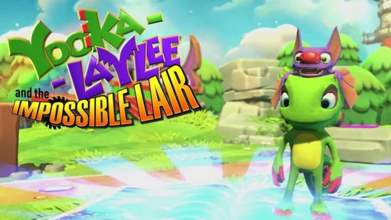 Gameplay z Yooka-Laylee and the Impossible Lair - lata '90 w dzisiejszej otoczce