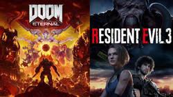 Resident Evil 3 i DOOM Eternal na nowych trailerach. Będzie naprawdę krwawo